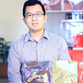Mahnessa Siregar (Business Development Manager) & Andri Halim (IT Manager) PT. Bumi Tangerang Cocoa (BT Cocoa)