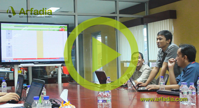Arfadia Web Admin Training